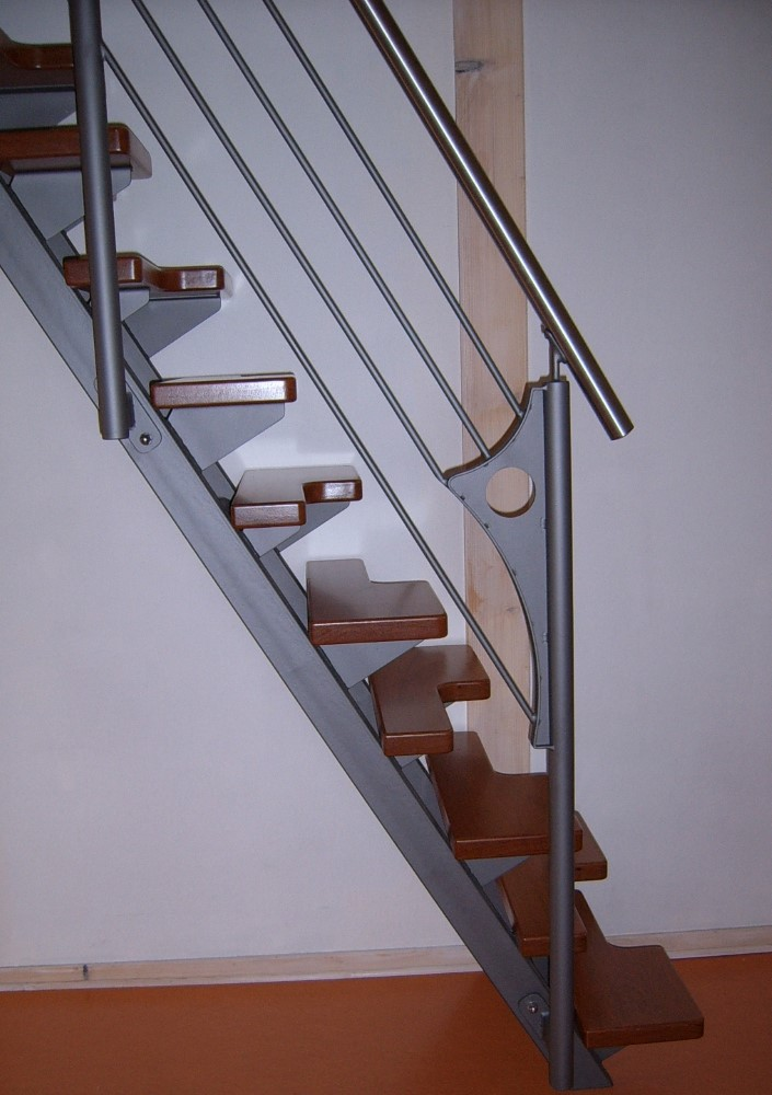 Eco step escaliers m tal inox construction m tallique luxembourg - Escalier peu encombrant ...